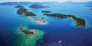 Kaşık Adası, Fethiye'de 12 Adalar Tekne Turu'nun ilk ve en güzel durağıdır...