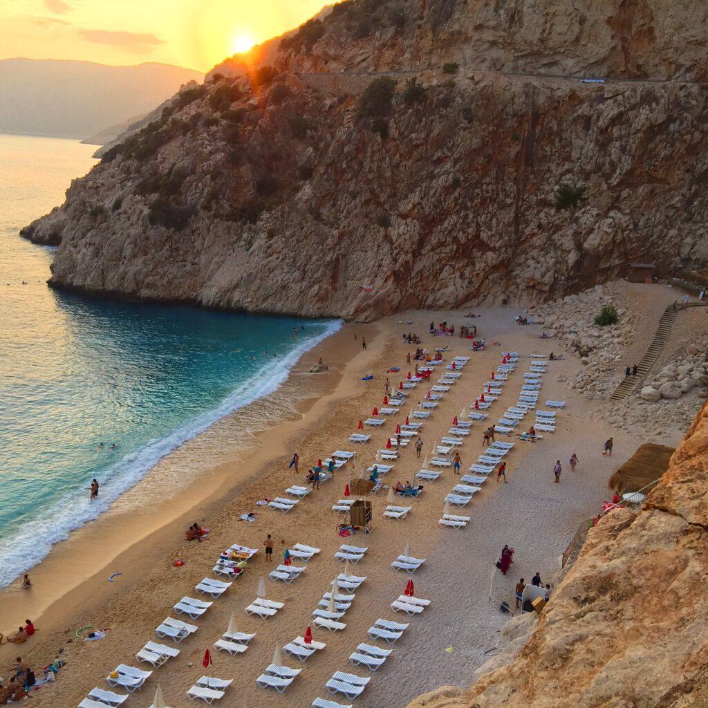 Kaputaş Plajı Türkiye'nin en güzel plajları arasında...